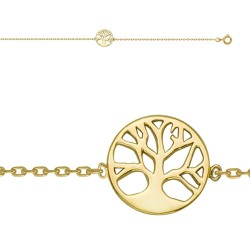 Chaine Cheville, motif ARBRE DE VIE 23+2CM