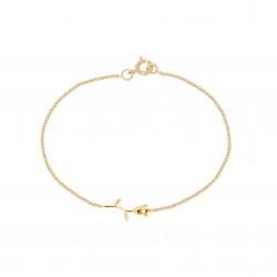 Bracelet plaqué-Or, rose