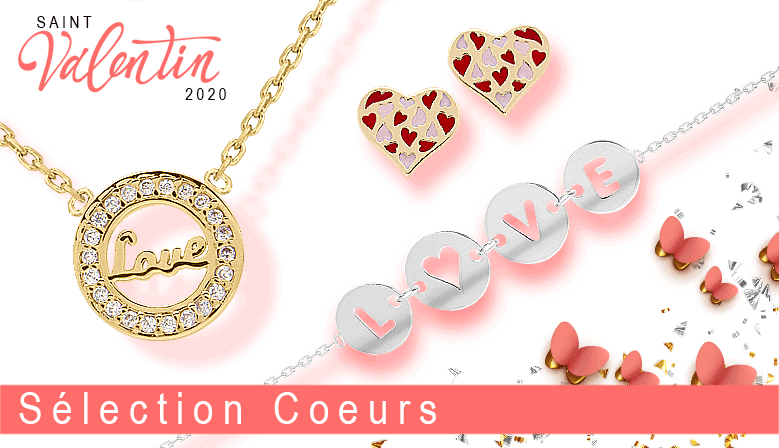 """Sélection """"Cou de Coeurs"""", spéciale St Valentin 2020 !"""