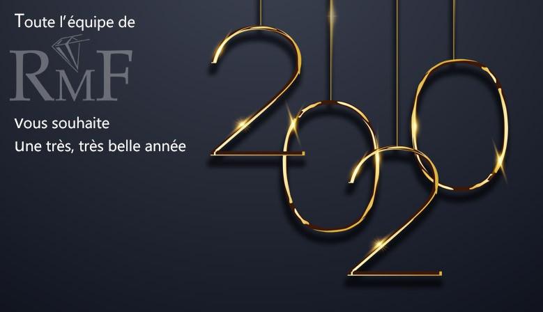Très bonne année 2020 de la part de toute l'équipe RMF !